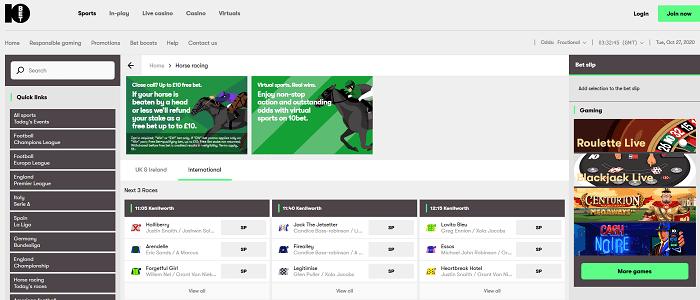 horse racing directory